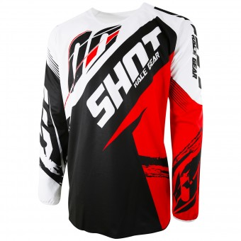 Motocross Jerseys SHOT Devo Fast Red Kid