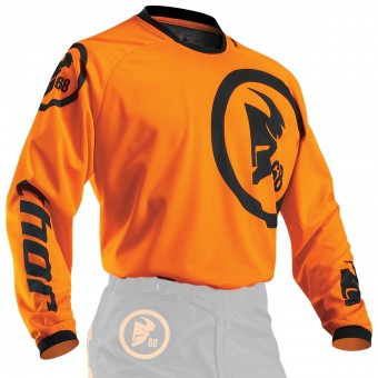 Motocross Jerseys Thor Phase Gasket Flo Orange Kid
