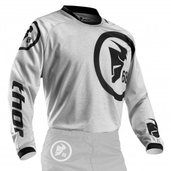 Motocross Jerseys Thor Phase Gasket Heather Kid