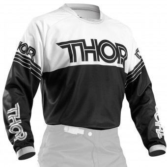 Motocross Jerseys Thor Phase Hyperion Black Kid
