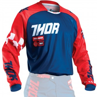 Motocross Jerseys Thor Phase Ramble Navy Red Kid