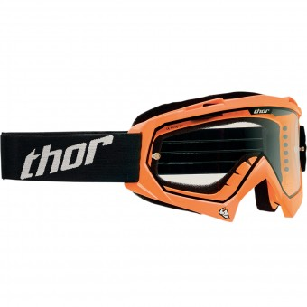 Motocross Goggles Thor Enemy Fluo Orange Kid