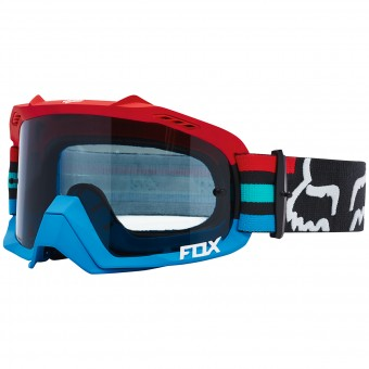 Motocross Goggles FOX Air Defence Seca Grey Red 037