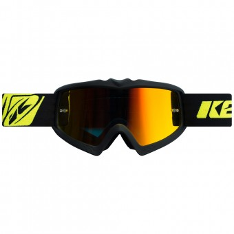 Motocross Goggles Kenny Performance Matt Black Kid