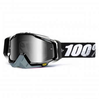 Motocross Goggles 100% Racecraft Abyss Black