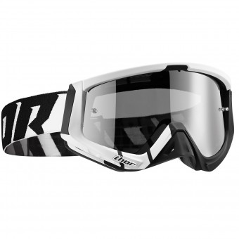 Motocross Goggles Thor Sniper Barred Black
