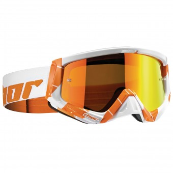 Motocross Goggles Thor Sniper Chase Orange