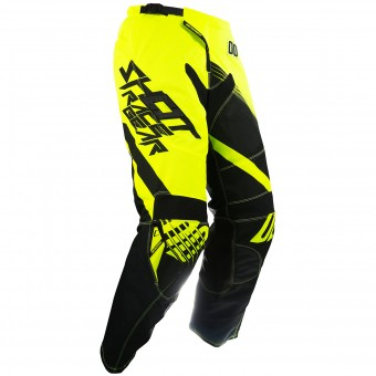 Motocross Trousers SHOT Contact Claw Neon Yellow Pant