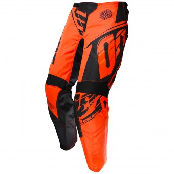 Motocross Trousers SHOT Devo Fast Neon Orange Pant Kid