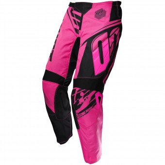 Motocross Trousers SHOT Devo Fast Neon Pink Pant Kid