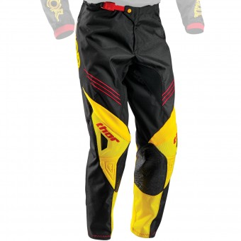 Motocross Trousers Thor Phase Hyperion Yellow Pant Kid