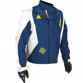 Motocross Jackets SHOT Flexor Advance Blue Yellow