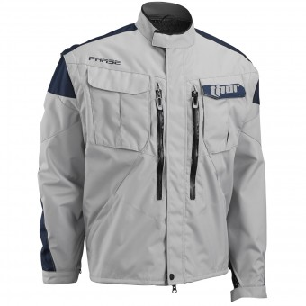 Motocross Jackets Thor Phase Jacket Cement Navy