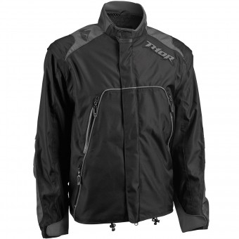 Motocross Jackets Thor Range Jacket Black Charcoal