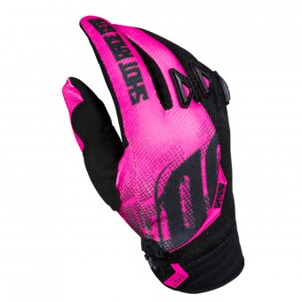 Motocross Gloves SHOT Devo Venom Pink Kid
