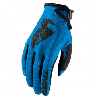 Motocross Gloves Thor Sector Glove Blue Kid