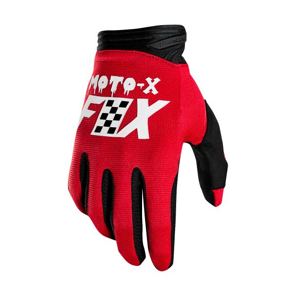 Motocross Gloves FOX Dirtpaw Czar Cardinal (465)