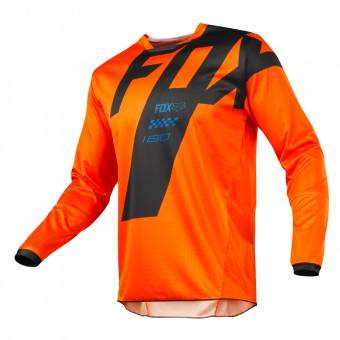 Motocross Jerseys FOX 180 Mastar Orange Kid 009