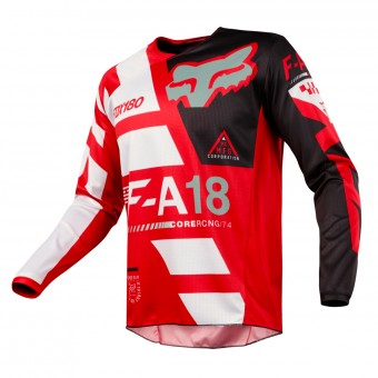 Motocross Jerseys FOX 180 Sayak Red Kid 003