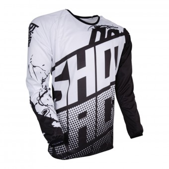 Motocross Jerseys SHOT Devo Venom Black Kid