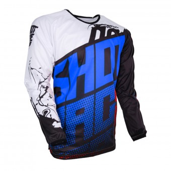Motocross Jerseys SHOT Devo Venom Blue Kid