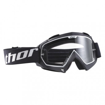 Motocross Goggles Thor Enemy Black Kid