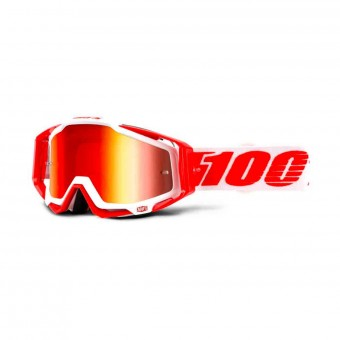 Motocross Goggles 100% Racecraft Bilal Mirror Red