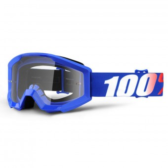 Motocross Goggles 100% Strata Nation Clear lens Kid
