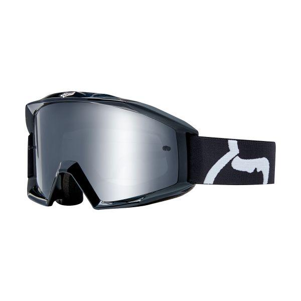 Motocross Goggles FOX Main Race Black Kid