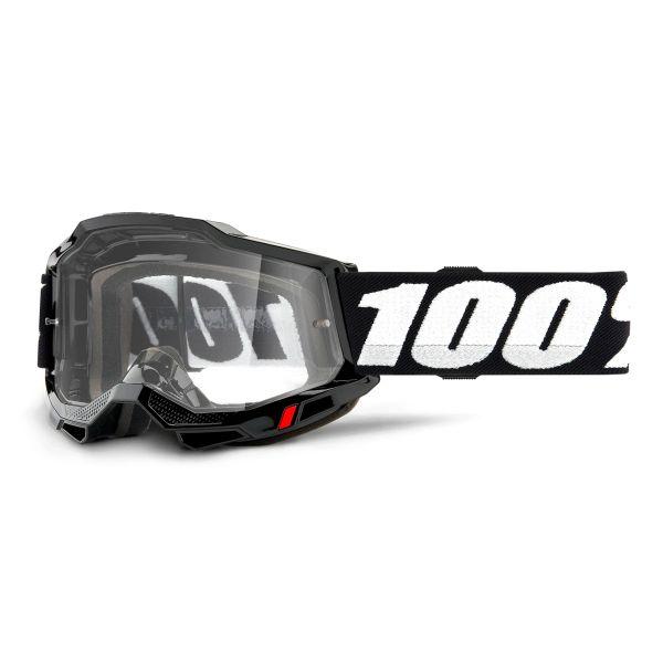 Motocross Goggles 100% Accuri 2 OTG Black