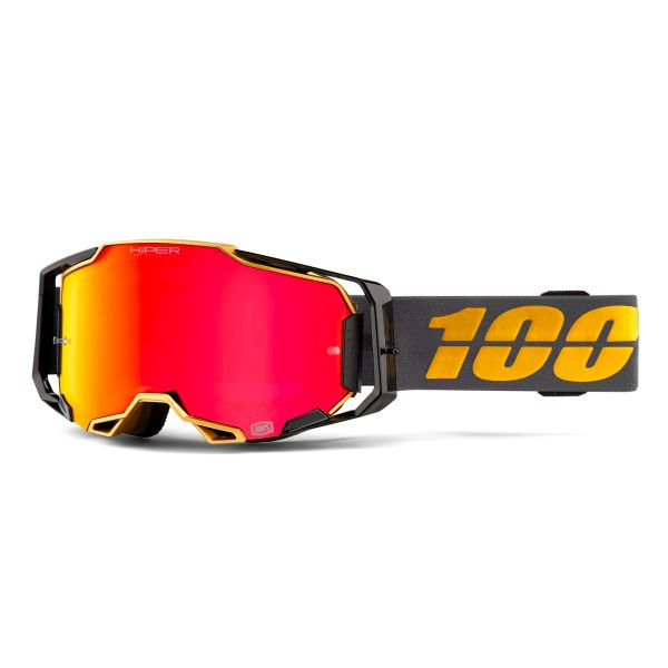 Motocross Goggles 100% Armega Falcon 5 - Hiper Iridium Red