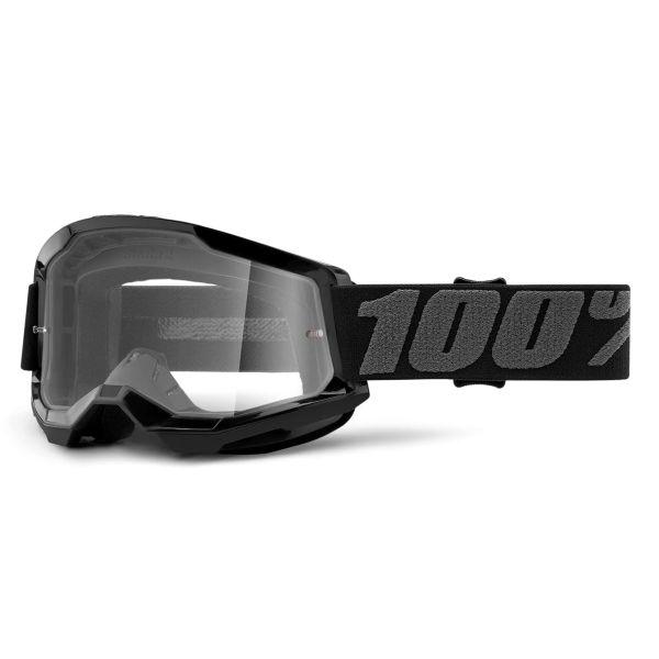 Motocross Goggles 100% Strata 2 Black