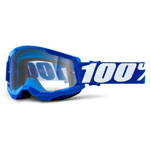 Motocross Goggles 100% Strata 2 Blue