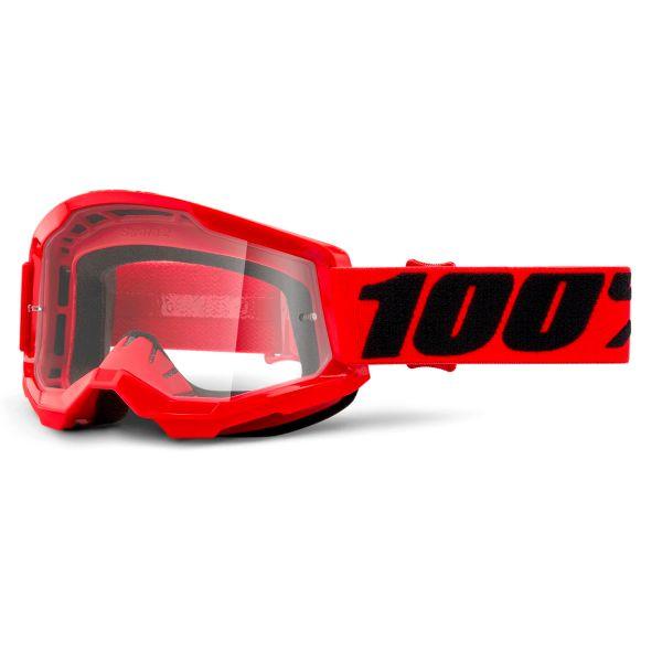 Motocross Goggles 100% Strata 2 Red