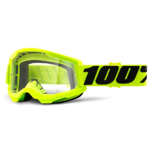 Motocross Goggles 100% Strata 2 Yellow