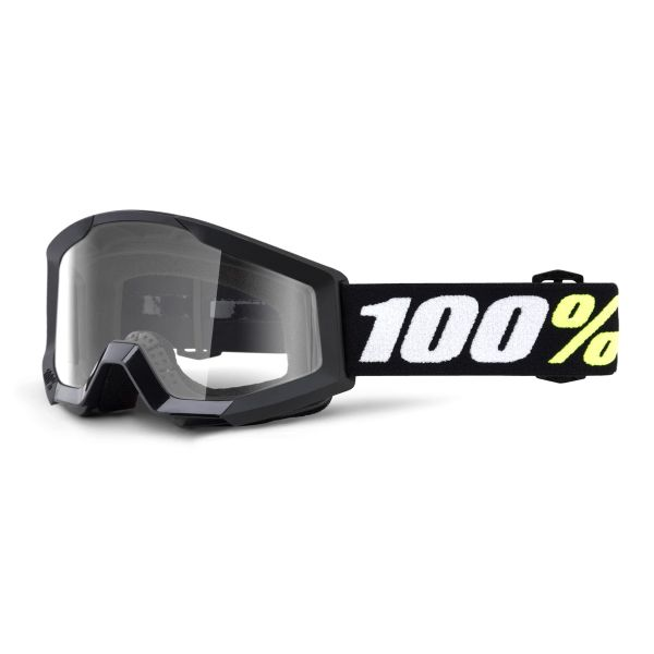 Motocross Goggles 100% Strata Mini Black