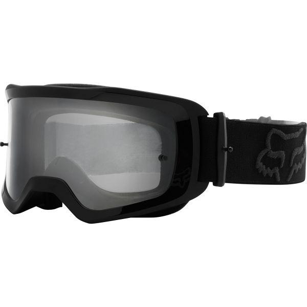 Motocross Goggles FOX Main II Stray Black Kid