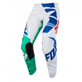Motocross Trousers FOX 180 Sayak Green Pant Kid 004