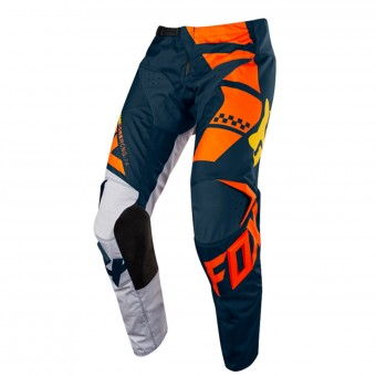 Motocross Trousers FOX 180 Sayak Orange Pant Kid 009