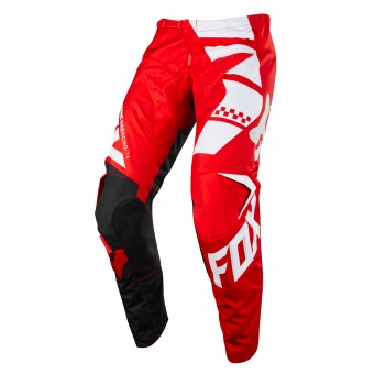 Motocross Trousers FOX 180 Sayak Red Pant Kid 003