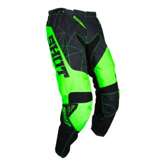 Motocross Trousers SHOT Contact Infinite Neon Green Pant