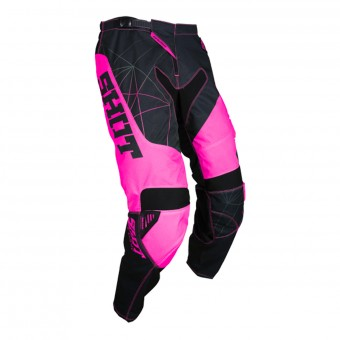 Motocross Trousers SHOT Contact Infinite Neon Pink Pant