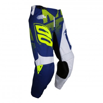 Motocross Trousers SHOT Devo Venom Blue Neon Yellow Pant Kid
