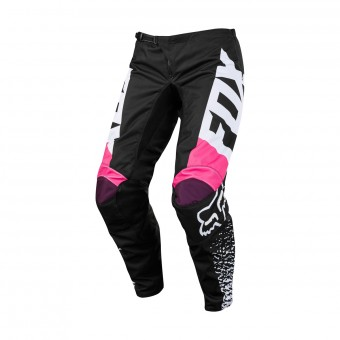 Motocross Trousers FOX Womens 180 Jersey Black Pink Pant 285