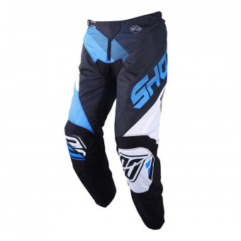 Motocross Trousers SHOT Devo Ultimate Black Cyan Pant Kid