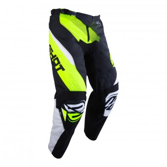 Motocross Trousers SHOT Devo Ultimate Black Neon Yellow Pant Kid