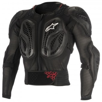 Chest Protectors Alpinestars Youth Bionic Action Black Red