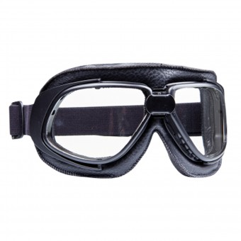 Motorcycle Glasses and Goggles Stormer Aviator T10 Matt Black
