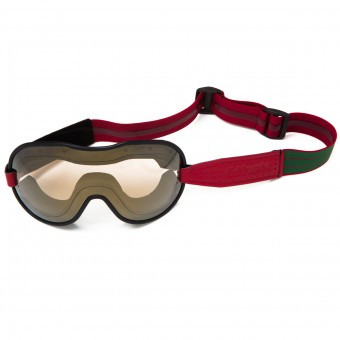 Motorcycle Goggles Ethen Cafe Racer Green Burgundy