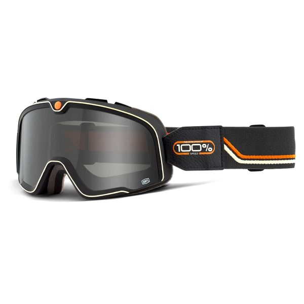 Motorcycle Goggles 100% Barstow Team Speed - Smoked Visor